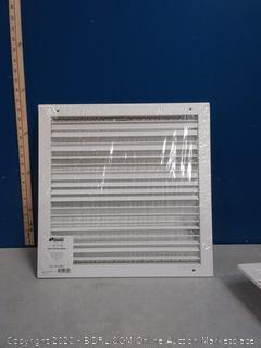 wall ceiling register vertical single