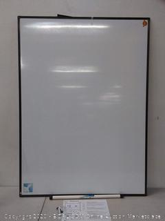 lockways magnetic dry-erase whiteboard black