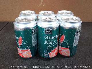 365 everyday value ginger ale 12 ounce cans 6 count