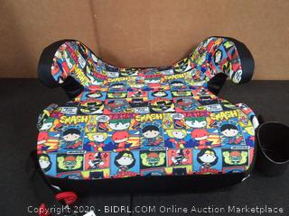 KidsEmbrace Backless Booster Car Seat, DC Comics Justice League Chibi Superheroes