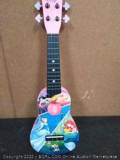 First Act Discovery Disney Princess Ukulele (Small Kids Guitar with Four Strings)