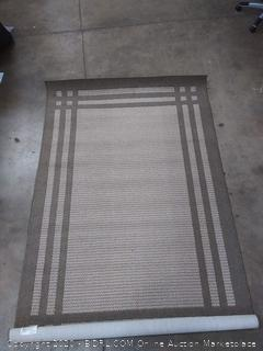 60 in x 96 in Allen and Roth Carney rug