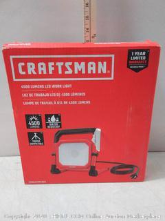 CRAFTSMAN 4500-Lumen LED Portable Work Light