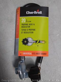 Char-Broil Hose and Regulator