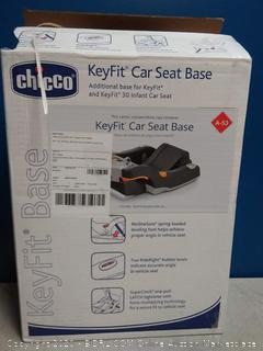 Chicco KeyFit Infant Car Seat Base, Anthracite (online $84)