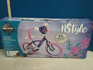 "Huffy 16"" Bicycle - Girls Bike (online $131)"