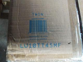 "Twin - Lucid By Linenspa 10"" Memory Foam Firm Viscoelastic Mattress (Online $339)"