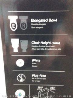 Kohler High curved elongated bowl Toilet
