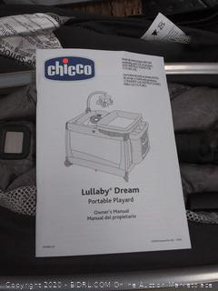 Chicco lullaby dream all-in-one portable Playard (Online $379)