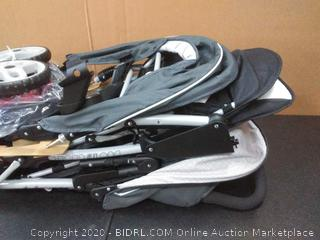 Graco DuoGlider Double Stroller Lightweight Double Stroller with Tandem Seating, Glacier (Online $153)