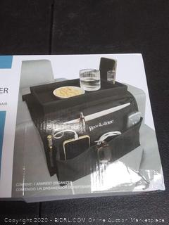 Brookstone armrest organizer black