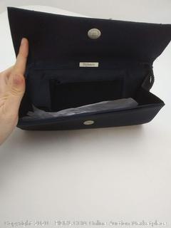 Navy Blue Evening Bag