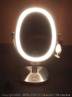 Newport ultrabrite adaptive color LED vanity mirror (powers on)