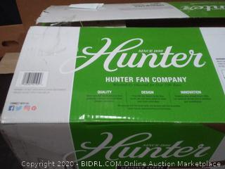 Hunter 60 in regalia to ceiling fan(needs light cover)