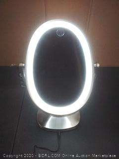 Newport ultrabrite adaptive color LED vanity mirror (powers on)