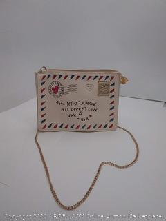 Betty Johnson Love Letter purse