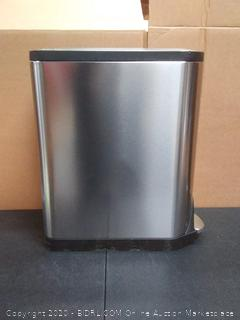 Simplehuman40L two bucket garbage can