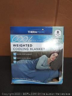 therapedic cold to the touch cooling blanket extra small