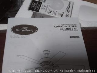 Harbor Breeze Caratuk River 52-in Bronze LED Indoor Ceiling Fan