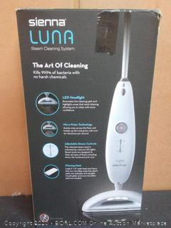 Sienna Luna steam cleaning system (powers on)