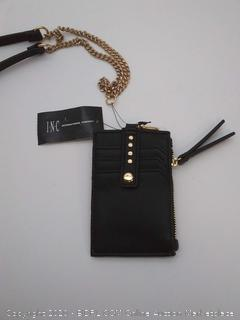 INC Hazell ID Card Case Lanyard-Black (MSRP- $30)