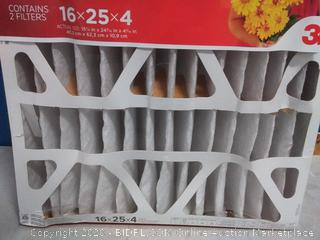 Filtrete 16x25x4 allergen Defense 2 pack (online $51)