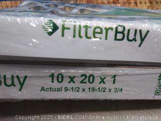 air filter Buy 10 x 20 x 1 breathe better filter (online $22)