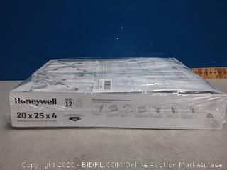 Honeywell MicroDefense 20x25x4 AC Furnace Air Cleaner Filter 4in (online $31)