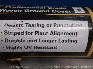DeWitt Sunbelt woven ground cover 4 ft x 300 ft (online $76)