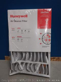 Honeywell 4-Inch High Efficiency Air Cleaner Filter 16 x 25 x 4 (online $21)