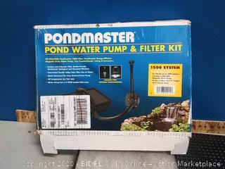 pondmaster pond water filter kit (online $116)