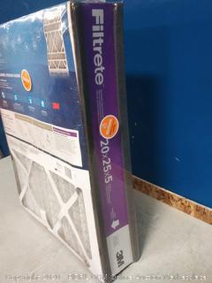 Furnace Air Filter 20 x 25 x 5 Inch Ultra Allergen Deep (online $42)