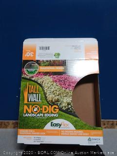traditional design no-dig landscape edging easyflex