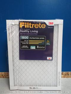 Filtrete 3M 15 x 20 x 1 filters(6pck) online $90