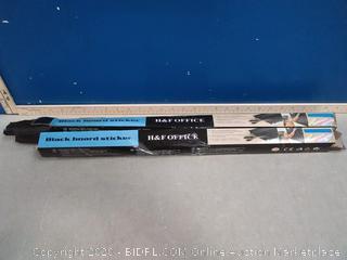 Black Board Sticker 2-pack