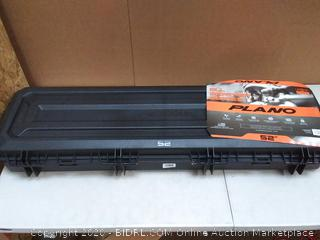 Plano wheeled double long gun case 52 in weatherproof(Retails $126)