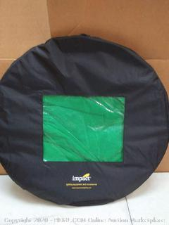 impact super collapsible chroma green 8'x16'