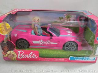 Barbie RC convertible