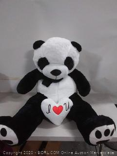 Yesbears 5 Foot Giant Panda Bear Ultra Soft Paws Embroidery (online $80)