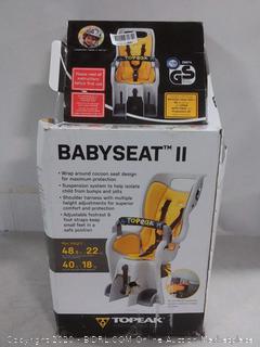 "TOPEAK BABYSEAT II W/ STD RACK FOR 26"" WHEELS (TCS2204) online $141"