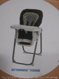 Graco TableFit High Chair, Rittenhouse Black/White (online $86)
