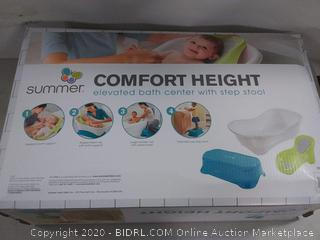 summer Comfort High elevated Bath Center with step stool