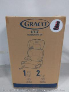 Graco Affix Highback Booster Seat with Latch System, Atomic