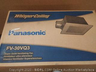Panasonicn whisper ceiling super quiet ventilation fan