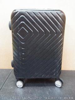 black small luggage