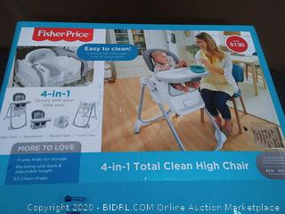 Fisher-Price farm one Total Clean high chair (maybe missing legs)