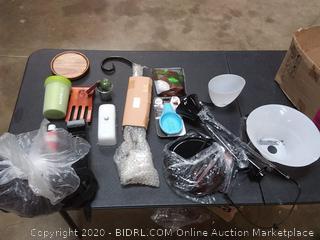 box of items