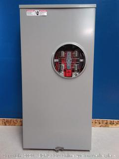 Milbank 320 amp 600 volts meter socket