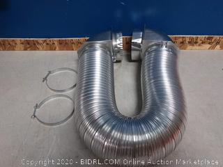 Builders best Universal dryer vent kit (online $35)