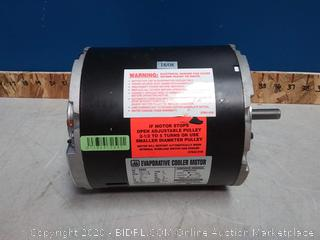 evaporative cooler motor 115 volt 1/3 HP horsepower 2 speed